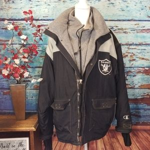 Raiders jacket by champion